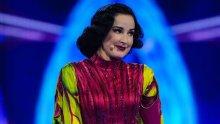 Dita Von Teese as Beetroot. Picture: ITV/Bandicoot TV