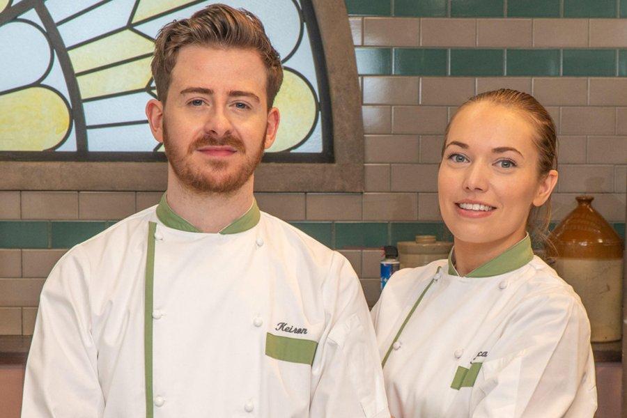 Keiron and Rebecca - Keiron George Cake Design