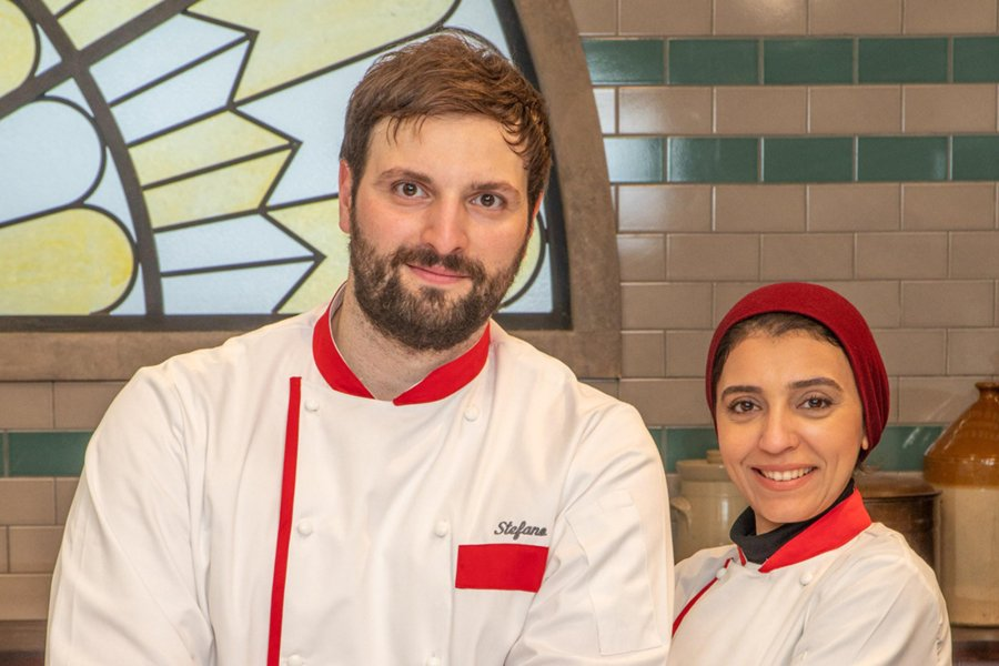 Stefano and Sara - Culture Whisk