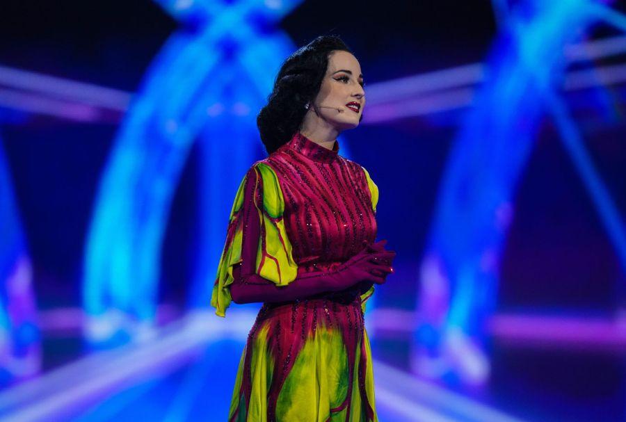 Dita Von Teese. Picture: ITV/©Bandicoot TV