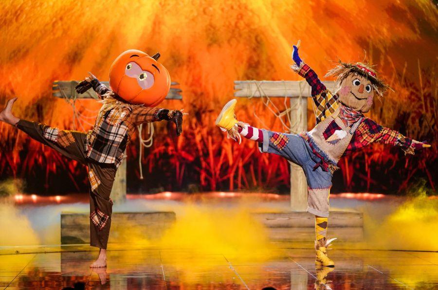 Scarecrow. Picture: ITV/Bandicoot TV
