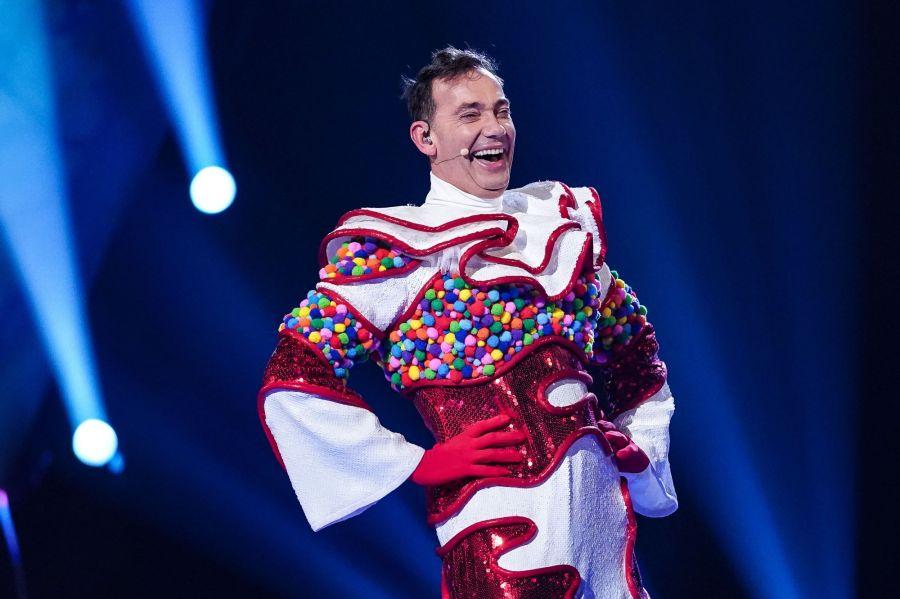 Craig Revel Horwood as Knickerbocker Glory. Picture: ITV/©Bandicoot TV