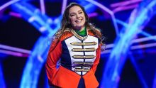 Kelly Brook as Frog. Picture: ITV/©Bandicoot TV