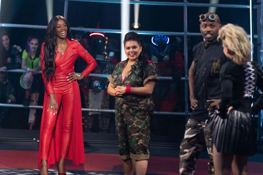 AJ Odudu, Scarlett Moffatt, Darren Harriott, and Kimberley Wyatt. ©Tuesday's Child Television