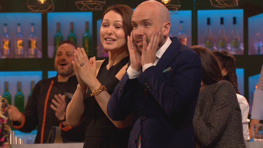Emma Willis and Tom Allen. Picture: ITV/South Shore