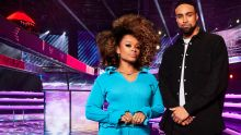 The Void on ITV and ITV Hub Pictured: Fleur East and Ashley Banjo.