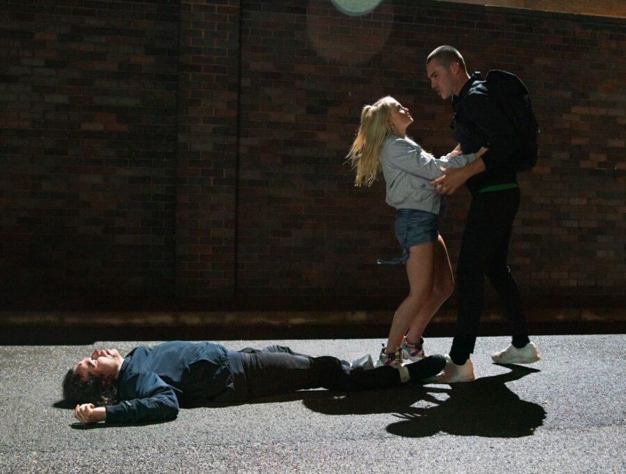 The attack on Seb and Nina
