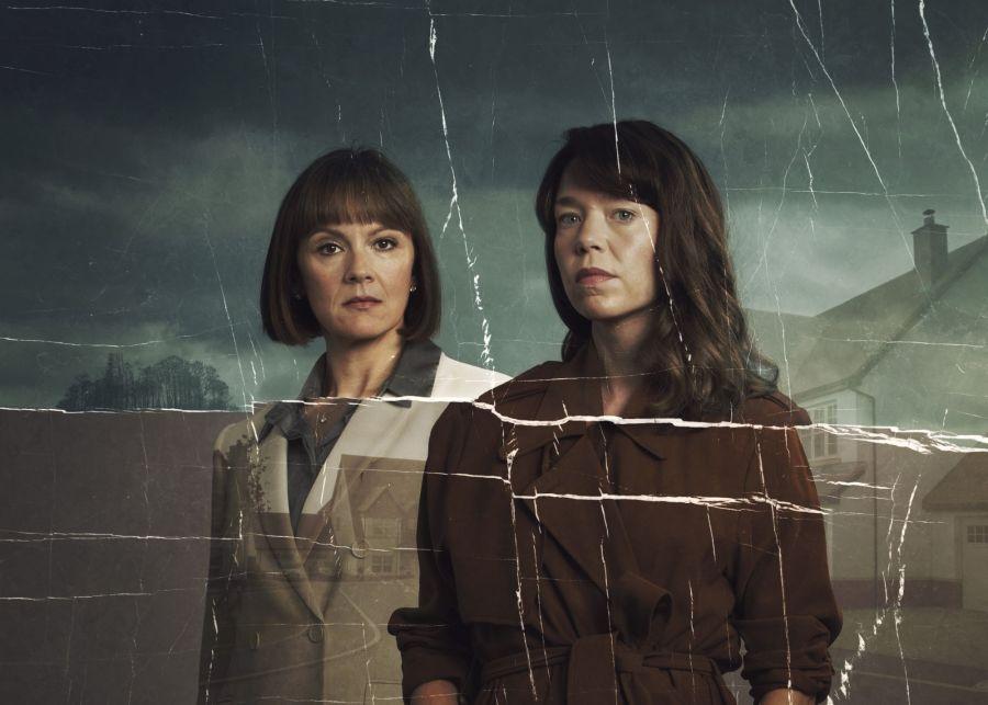 Hollington Drive: ANNA MAXWELL MARTIN as Theresa and RACHAEL STIRLING as Helen.