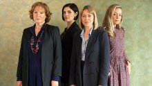 l-r: Ruth (Deborah Findlay), Nina (Annabel Scholey), Hannah (Nicola Walker) and Rose (Fiona Button)
