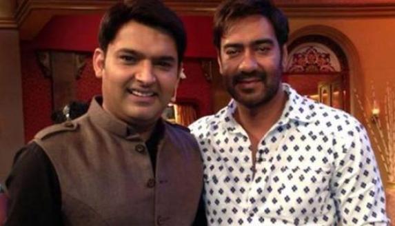 Ajay Devgan in Comedy Nights with Kapil