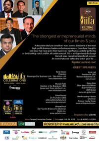 IIFA 2014 - Business Forum Men