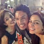 Pakhi - Anshuman - Lavanya selfie for shutterbugs