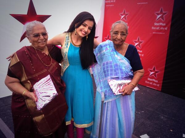 Astha with her old fans