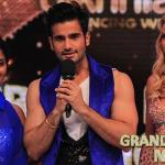 Karan speaks with judges along with Elena yesterday