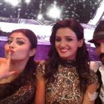 Shakti and Mouni in a candid pose