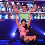 Kushal doing dance via gymnastics with Mohena Kumari