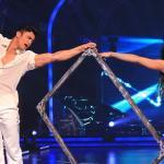 Puja dances in a sensous dance with Rajit