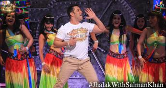 Salman makes an entry with dance on Jumma Ki Raat song