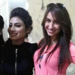 Shakti, Mouni and Lauren giving an elegant selfie