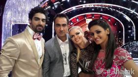 Shakti, Ranvir, Elena, and Tushar selfie