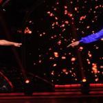 Tara-Jean with her partner in an elegant dance