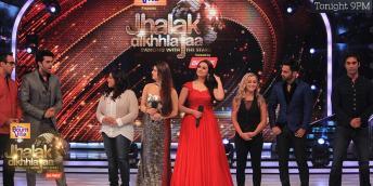 Jhalak's Wildcard contestants - Malishka, Kainaat, Akriti, Tara, Rahul, Kushal