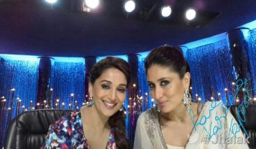 Kareena's elegant selfie with Madhuri