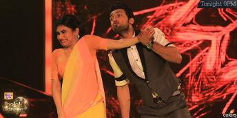 Mouni and Puneet at their humorous best