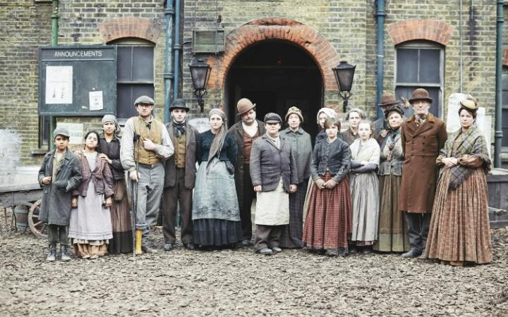Image result for lady slum visitor victorian