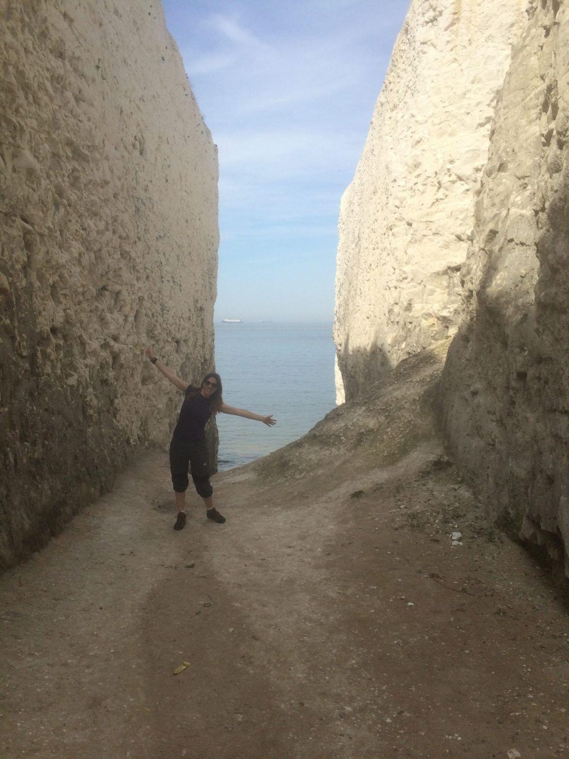 Ruta Ramsgate a Margate:Acantilados blancos del sur de Inglaterra