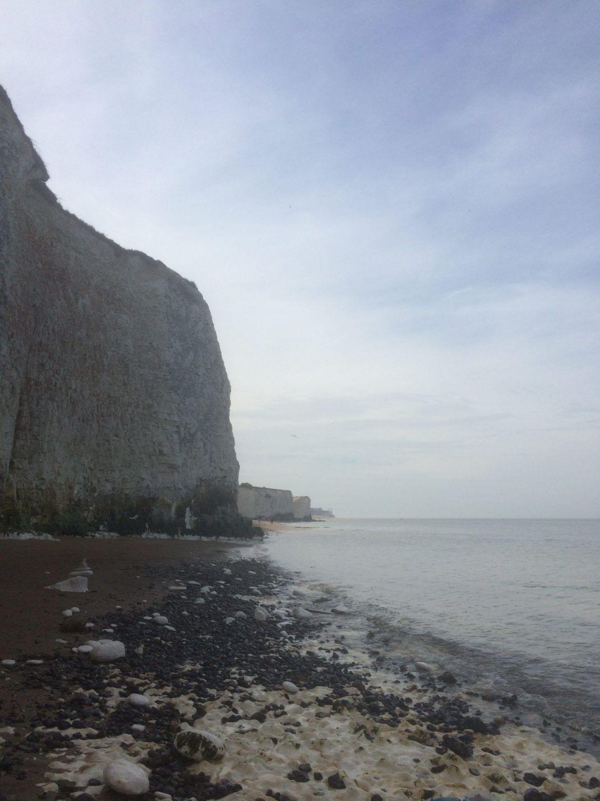 Ruta Ramsgate a Margate: acantilados blancos del sur de Inglaterra