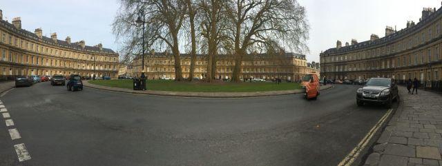 Bath en 2 días: Royal Crescent