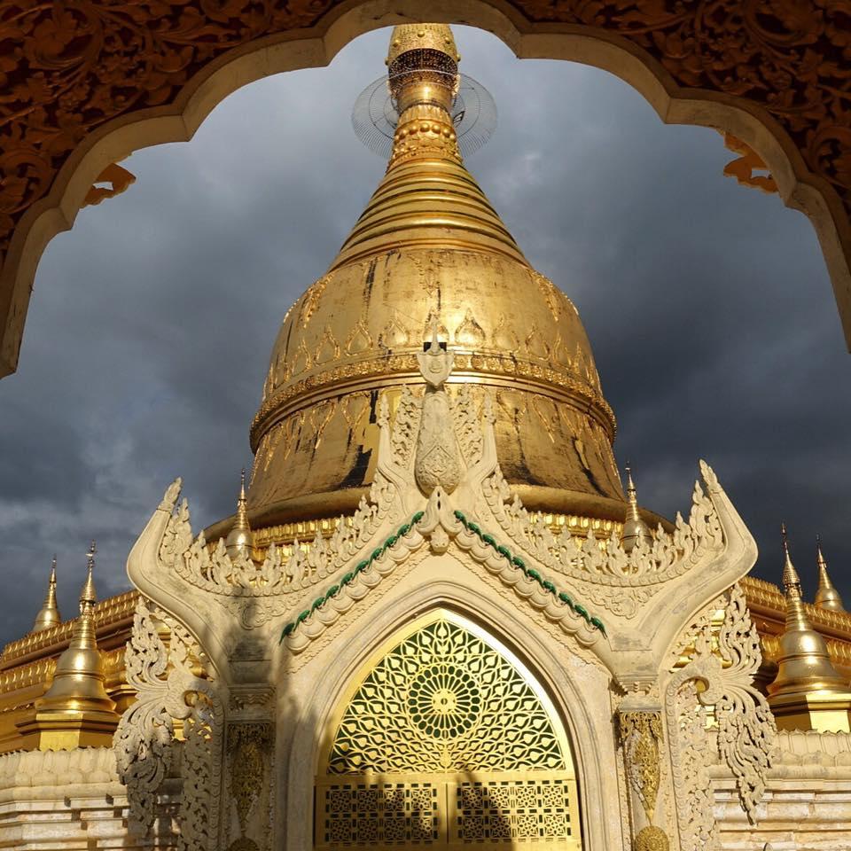 Itinerario de Myanmar: Pagoda en Yangon