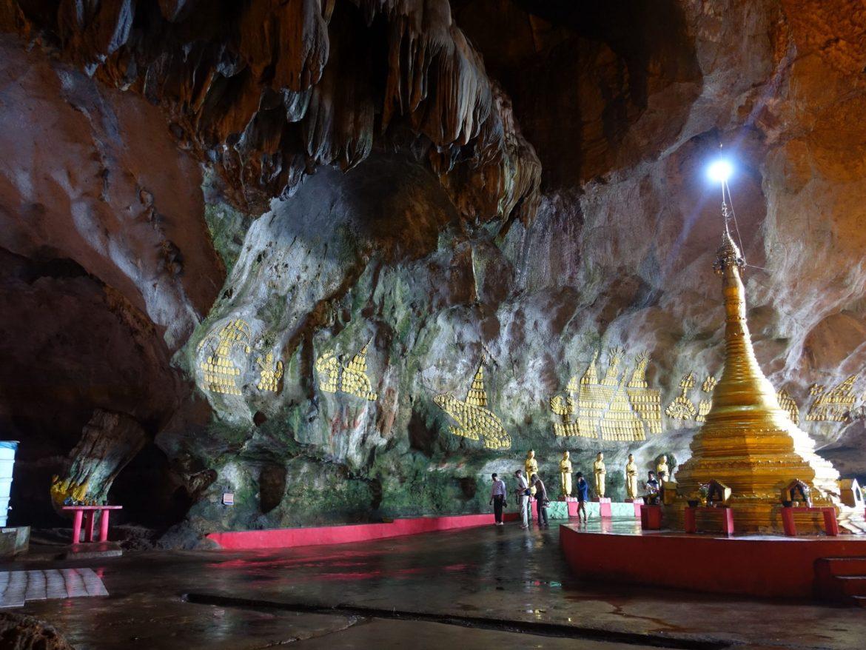 Saddan cave: qué hacer en Hpa-An