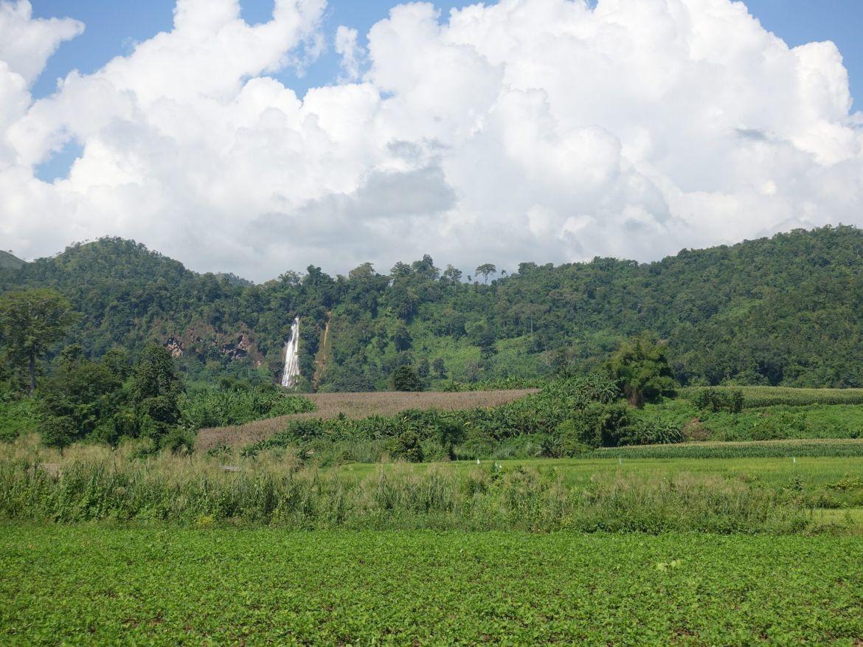 qué hacer en Hsipaw: Nam tuk cascadas
