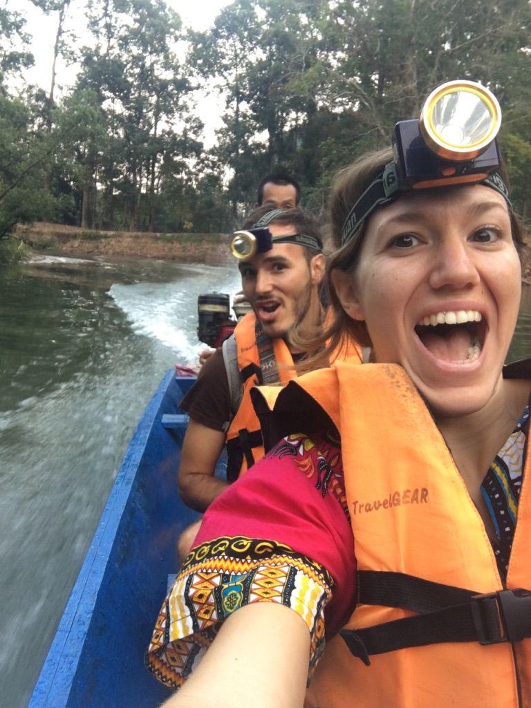 circuito en moto en Thakhek: Cueva de Konglor