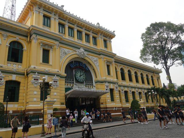 Qué ver y hacer en Ho Chi Minh: Oficina de correos.