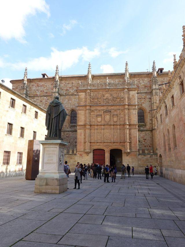 Qué ver y hacer en Salamanca: Fachada de la Universidad