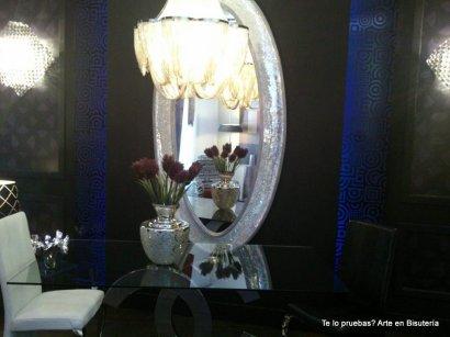 Preciosa y lujosa habitación en platas y azules, glamour por todas partes!