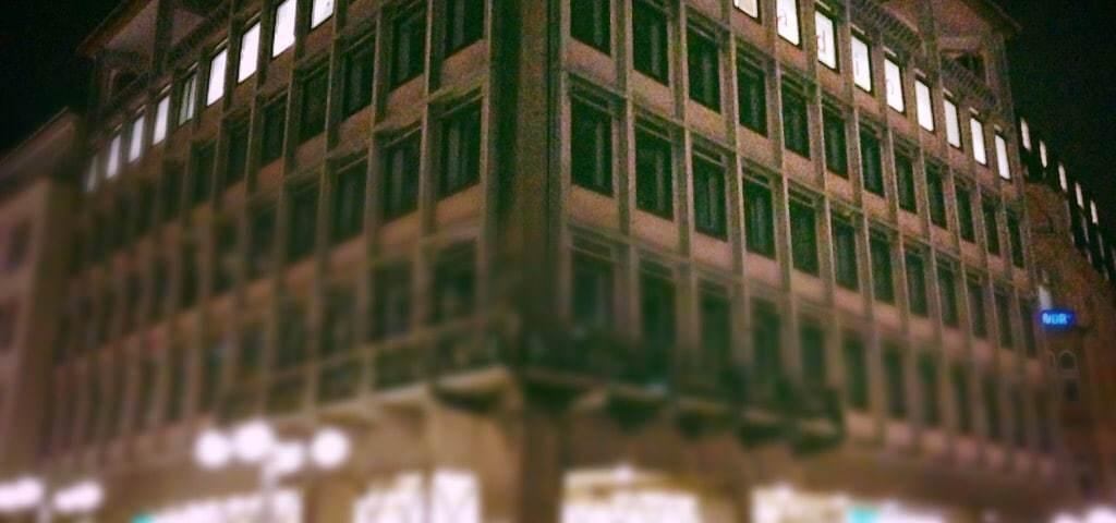 Das Domradio-Gebäude, bei dem telos communication zu Gast war