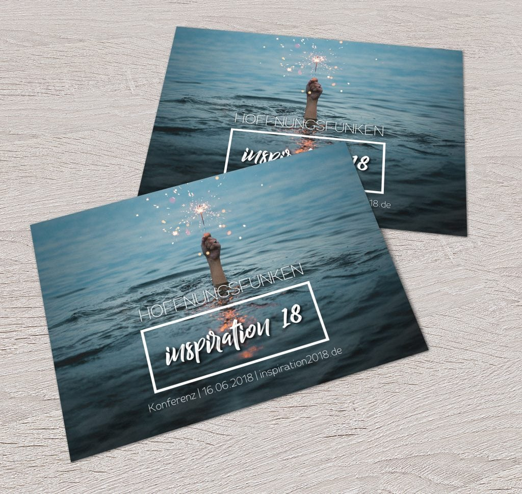 Postkarte zur inspiration2018