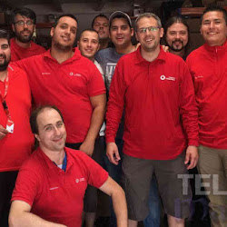 Telpro Madrid - instaladores Red Team Vodafone