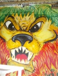 Mural at Lion Bar