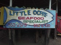 Little Ochie where you choose your fish for them to cook
