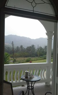 From my room