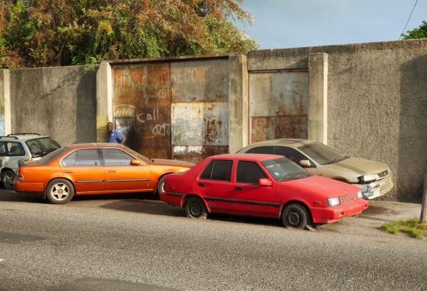 Trio of cars