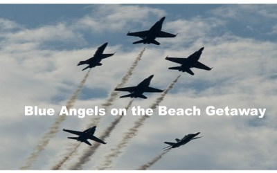 Blue Angels on the Beach Getaway | Pensacola Beach FL Contest Fundraiser