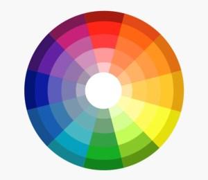 An example of a colour wheel