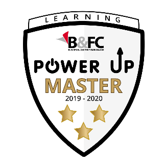 Blackpool and Fylde College Power Up badge