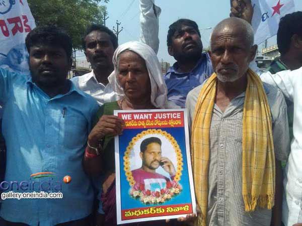 madhukar 20 1497923782 బుసకొట్టడమే కాదు, కాటు వేస్తోంది, జాగ్రత్త! | Kasula Pratap Reddy warns against the caste based clashes and killings in Telangana